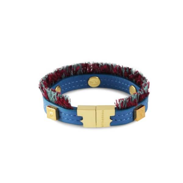 TISSUVILLE Flik Mini Bracelet Azure Gold