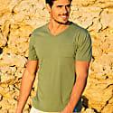 Mojito V-Neck T-Shirt In Green image