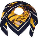 Large Square Scarf Freaks Print image