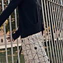 Reversible Relaxed Fit Cropped Pants image