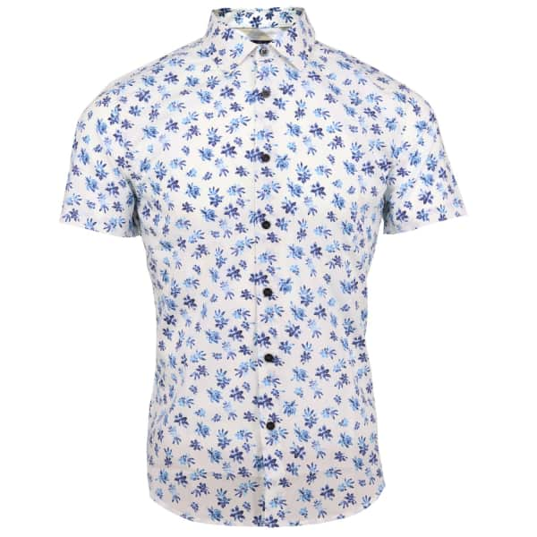 LORDS OF HARLECH Scott Shirt In Forna White