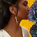 Lale Earrings In Gold image