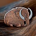 Woolly Mammoth Enamel Pin image