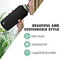 1 Litre Liquorice Insulated Epic Bottle Thermal Canteen Stainless Steel image