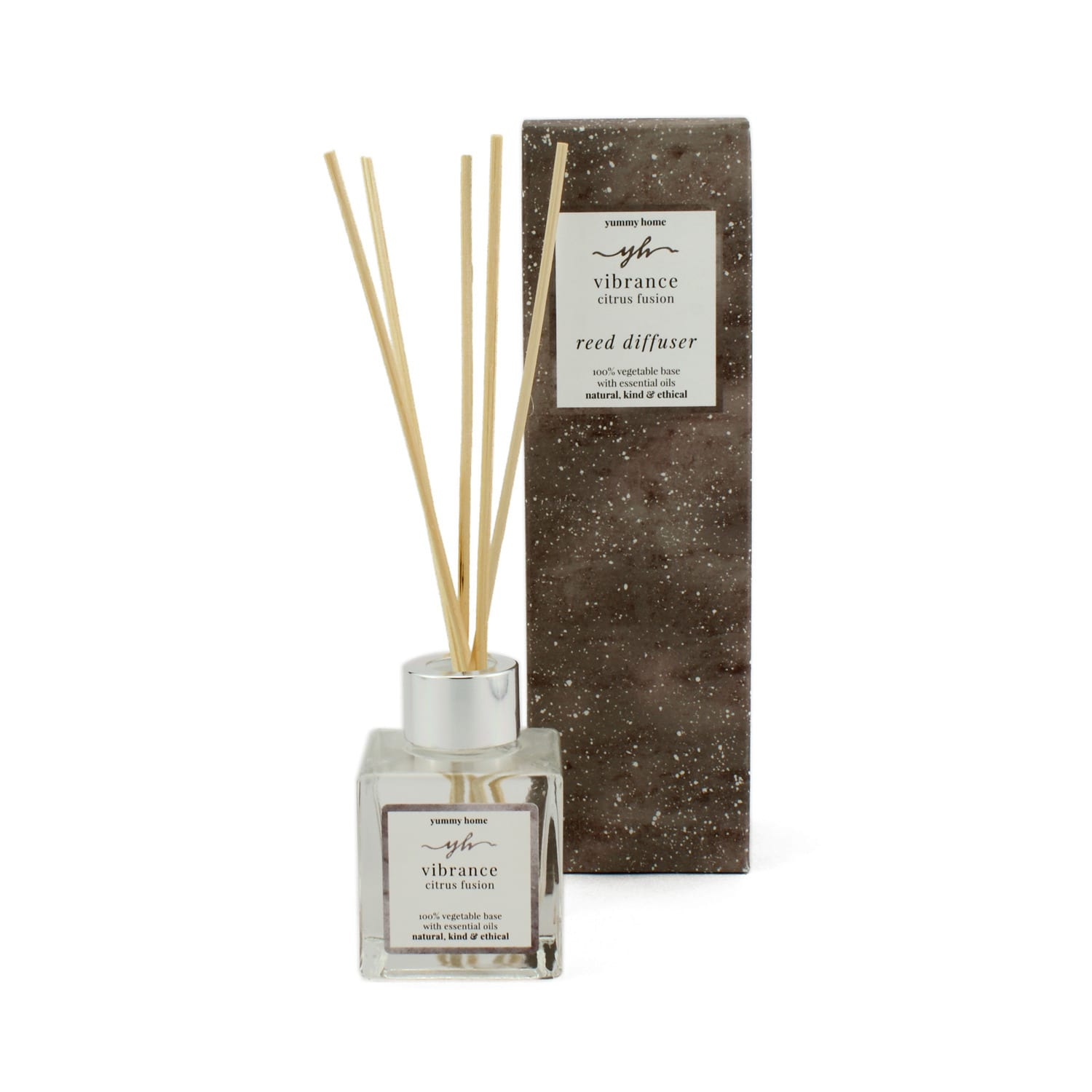 Yummy Home - Vibrance Citrus Fusion Reed Diffuser 100ml