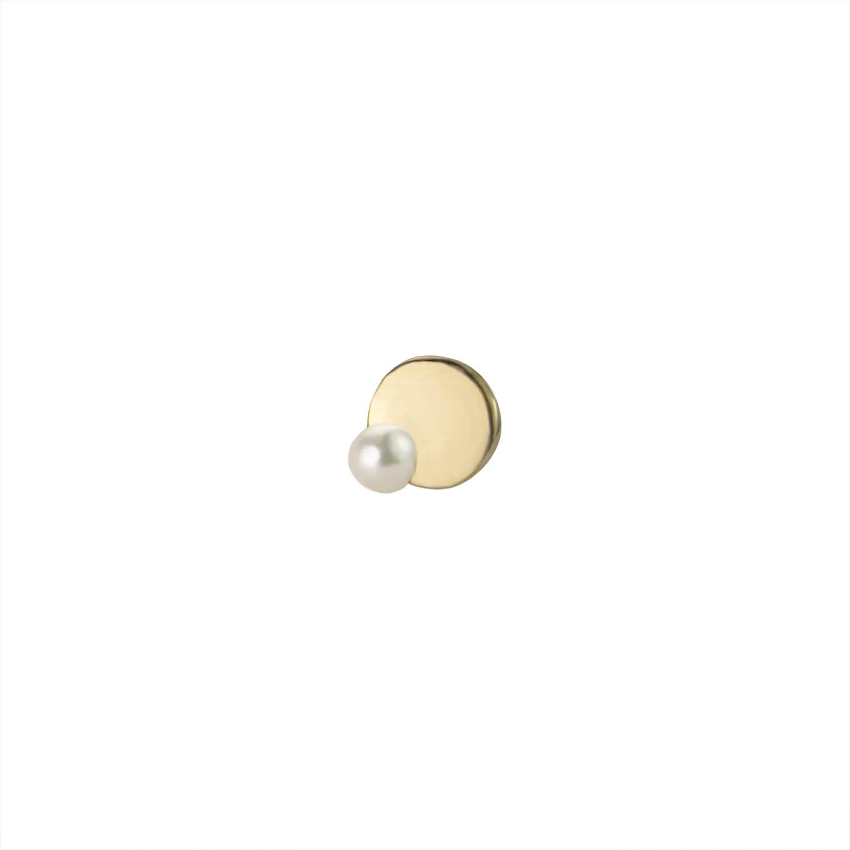 306cf4bbc64689 Leda Stud Single   Irena Chmura Jewellery   Wolf & Badger