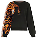 Tiger Head Black Jumper image