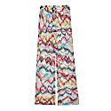 Chiffon Trousers in Light Multicolor image