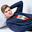 Men Space Pup Embroidered Sweatshirt image