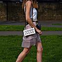 Darlyne Clutch In Pure White image
