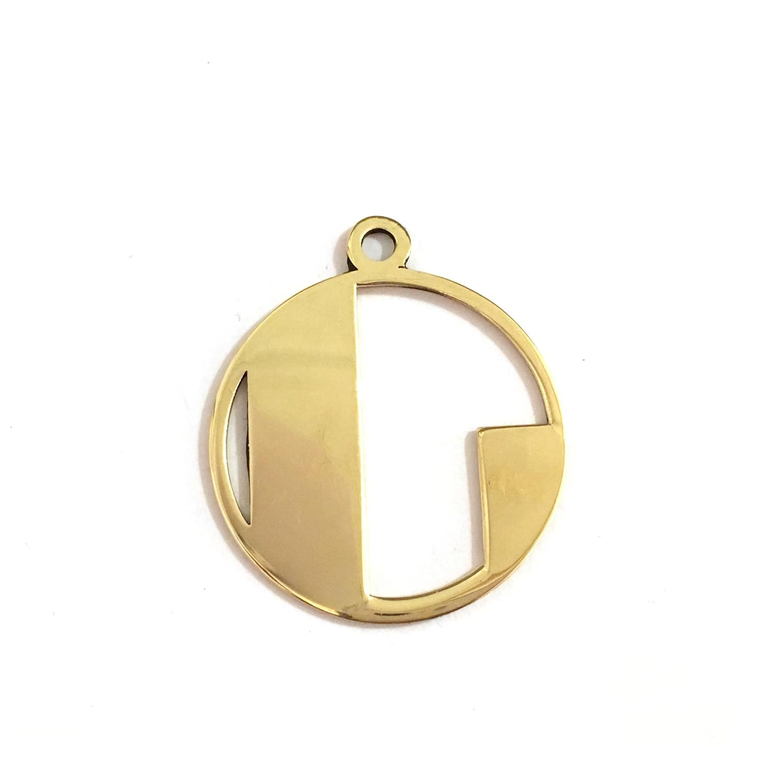 Gold deco initial l pendant necklace alice eden wolf badger gold deco initial l pendant necklace image aloadofball Gallery