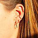 CZ Studded Cuff Earring image