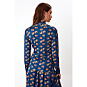 Blue Poppy Cyril Turtleneck Jumper image