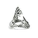 Vampire Bite Ring Silver image