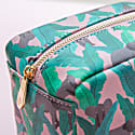 Elephant Vegan Leather Box Wash Bag image