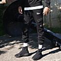 Cadley Utility Fleece Combat Trousers In Black image