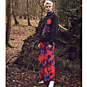Pluto Pants In Gothic Floral Print image