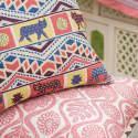 Oakleaves Cushion Pink image