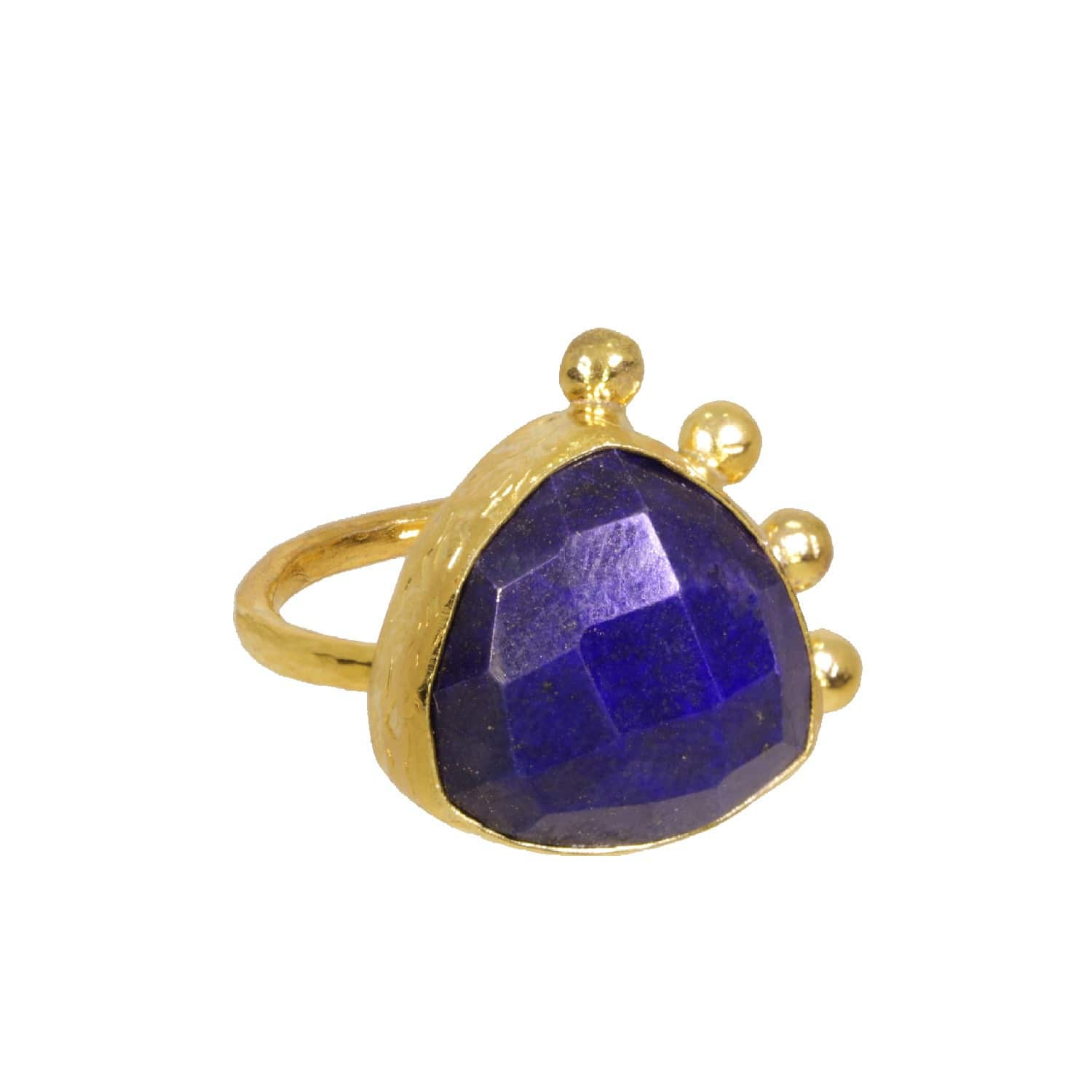 4ac327c5cdb1d Lapis Curio Cocktail Ring by Ottoman Hands