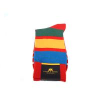 TYLER & TYLER Stripey Red Socks