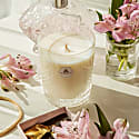 Unique Scented Candle In Crystal Glass - Sweet Sandalwood - Gustav image