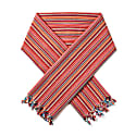 Serit Cotton Stripe Neckerchief Russet image