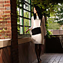 Explorer Crossbody Clutch In Black Suede image