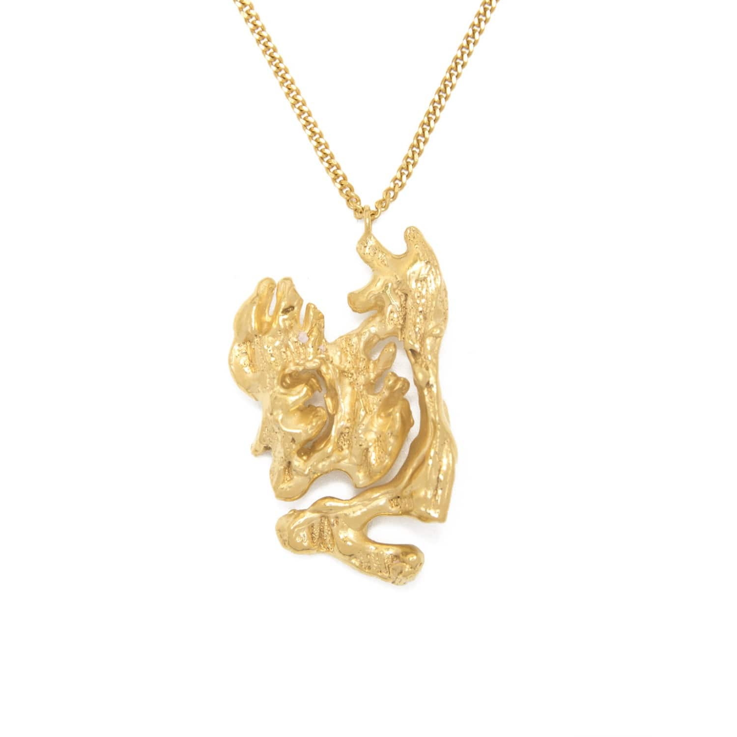 pin necklace animal brass chinese rooster coin pendant gold spirit of zodiac year the bronze charm totem