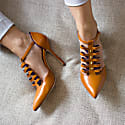 Alter Ego Tan Leather High Heels image