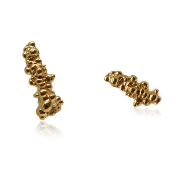 KAROLINA BIK JEWELLERY Mammatus Small Earrings Gold