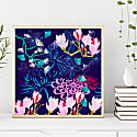 Giclee Print - Midnight Florals image