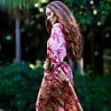 Rose Lily Kimono Robe image