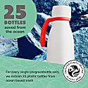 Milk - 350Ml Life Collection Bottle Stainless Steel Insulated Vacuum image