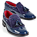 Eleanor Navy Patent Loafer image