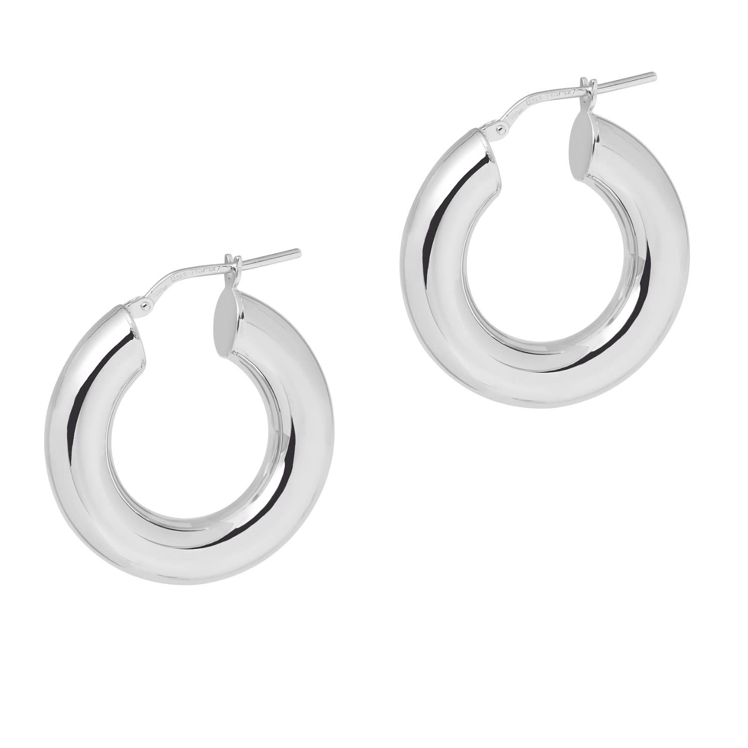 6c958032f La 80's Curvaceous Mini Silver | THE HOOP STATION | Wolf & Badger