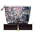 Giant Washbag - Check Zebra image