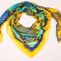 Forme Jaune Turquoise Modal Scarf image