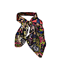 Minu Hand Painted Persian Print Neck Scarf image