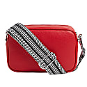 Crossbody Bag In Red With Interchangeable Straps image