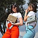 Perla Shoulder Bag Mocca Suede image