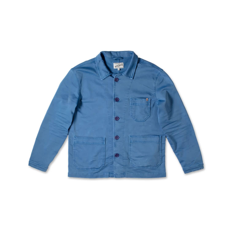 French classic chore coatwork jacket