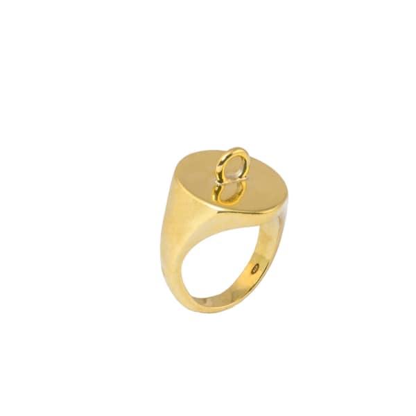 GLENDA LOPEZ The Link Signet Ring