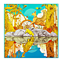 Jungle Pocket Square image