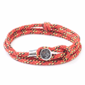 All Red Dundee Rope Bracelet  image