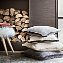 Grey Happy Pillow image