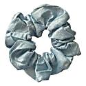 Zero Waste Scrunchie Baby Blue Raw Silk image