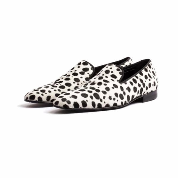 DONHALL & BELL Donhall & Bell - Ascot Dalmatian Slipper