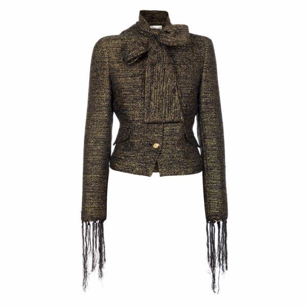 JIRI KALFAR Black & Gold Short Jacket