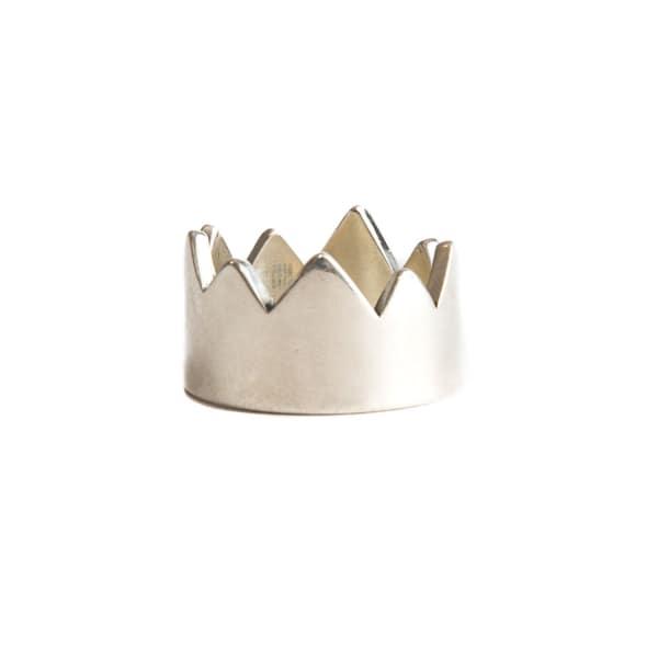 SERGE DENIMES Spiked Crown Ring