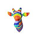 Paper Mache Rainbow Giraffe Head image